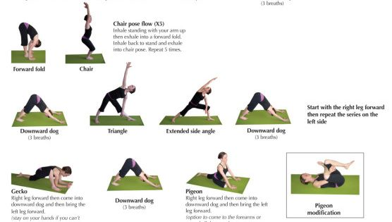 yoga sequences 25 minute hip sequence