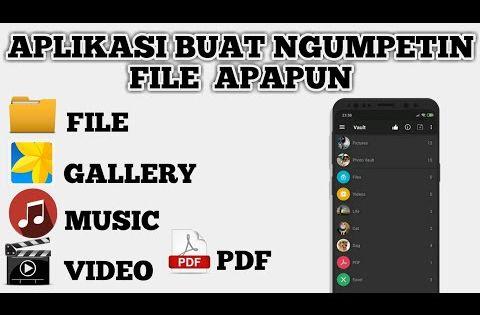 Cara Menyembunyikan Foto Dan Video Di Android Dengan Aplikasi Calculator Vault Youtube Video Aplikasi Android
