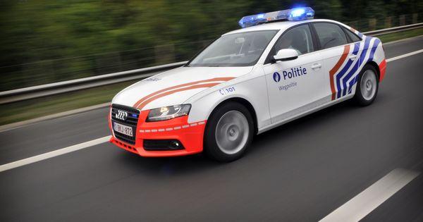 Audi A4 3l Quattro Federale Politie Wegpolitie