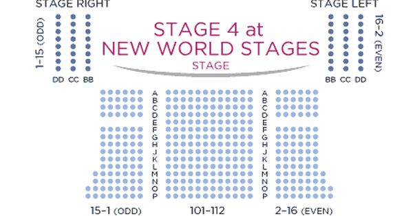 Clockwork Orange Seating Chart Broadway Tickets New World Stages Broadway Shows
