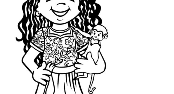 Children Around The World Coloring Pages | histoire-geo ...
