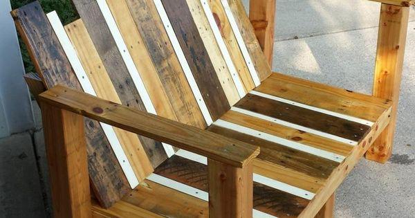 gartenm bel aus paletten brettern bauen palets pinterest. Black Bedroom Furniture Sets. Home Design Ideas