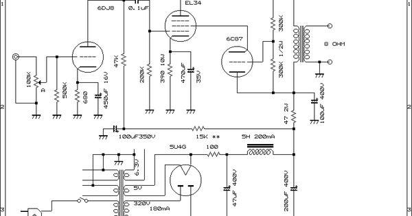 el34 ul single ended amplifier 2012