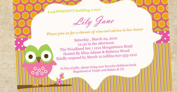 Girls Birthday Invitation or Baby Shower by paperclever on Etsy, $12.00 | ...its a GIRL ...