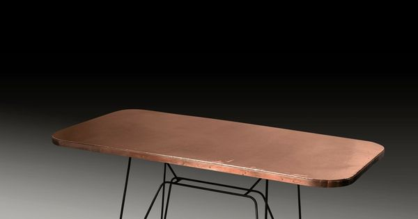 Eileen Gray Copper And Steel Coffee Table 1930s Tabled Pinterest Copper Design And Coffee