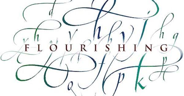 Flourish Calligraphy Google Search Calligraphy