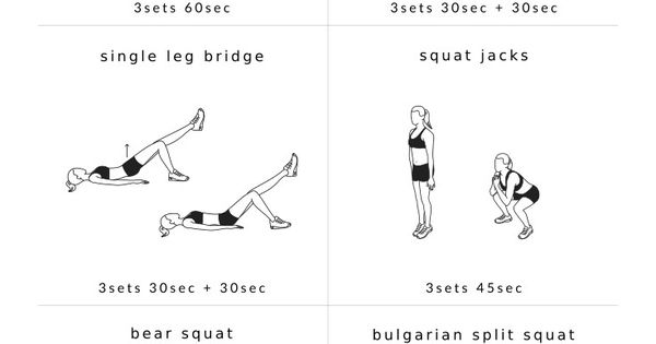 Upgrade your workout routine with these 10 leg exercises ...