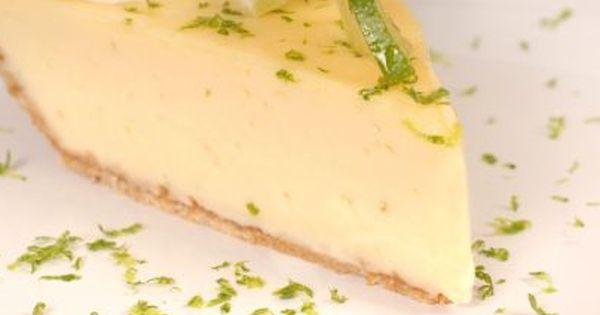 Skinny Key Lime Pie recipe