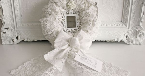 kranz bilderrahmen shabby chic weiss bilderrahmen. Black Bedroom Furniture Sets. Home Design Ideas