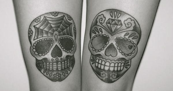Want sugar skull tattoos so bad, if you become a tattoo artist