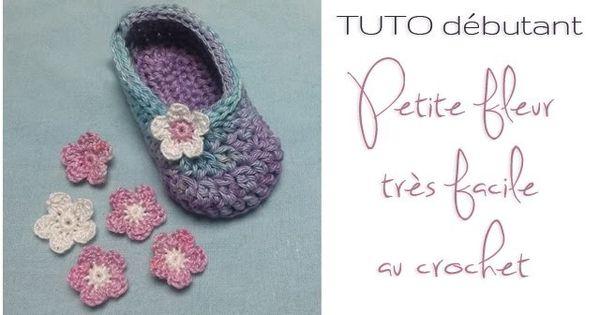 tuto d butant petite fleur au crochet tr s facile r aliser crochet et bricolage. Black Bedroom Furniture Sets. Home Design Ideas