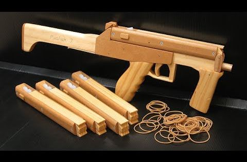 rubber band machine gun plans