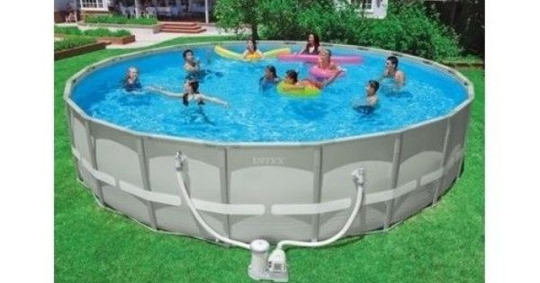 Intex 22 X 52 Quot Ultra Above Ground Swimming Pool Durable