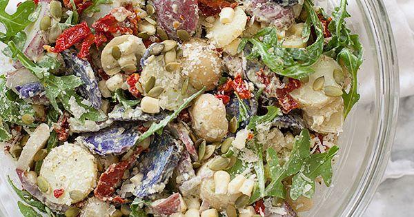 Stetson Potato Salad   Recipe   Potato salad, Sun and Cherry tomatoes