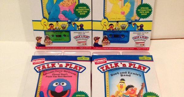 Playskool Electronic Talk N Play Books Amp Tape Set 4