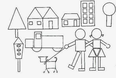 Resultat D Imatges De Dibujos Con Figuras Geometricas De Paisa Dibujos De Figuras Geometricas Figuras Geometricas Para Ninos Actividades De Figuras Geometricas