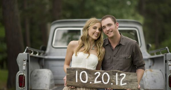 Save the Date!! I love this picture, with the old truck