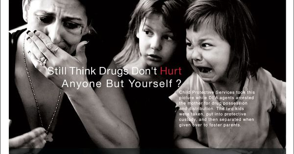 Anti Drugs Ads. CPS took these children from their mother ...