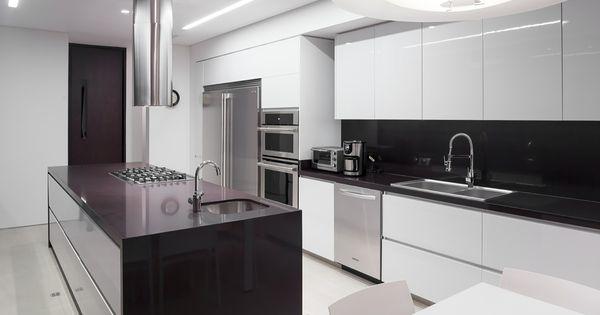 Cocinas modernas con isla central peque a buscar con - Isla cocina pequena ...