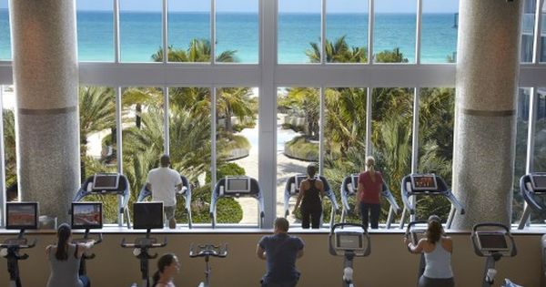 Gyms With A View State Of The Art Equipment Combined With Spectacular Ocean Views Wellness Resort Destination Spa Wellness Retreats