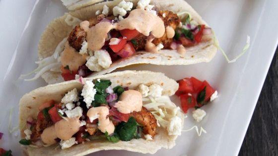Baja fish tacos with chipotle crema chipotle napa for Greek yogurt fish taco sauce