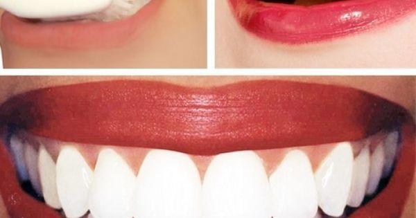 tanden poetsen met citroensap