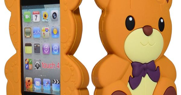 iPhone phone cases for iphone5s : ... Brown Silicone Teddy Bear Phone Case : Animals, Brown and iPod Touch