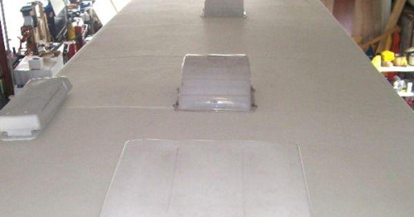 Travel Trailer Aluminum Siding Repair Aluminum Siding Repair Air Conditioner Repair External Lighting
