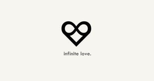 Simple and with deep meaning - infinite love. tattoo ink