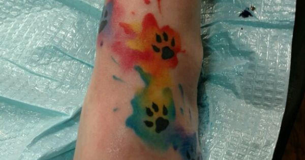 my new tattoo for all of my furbabies including the 2 that crossed over the rainbow bridge. Black Bedroom Furniture Sets. Home Design Ideas