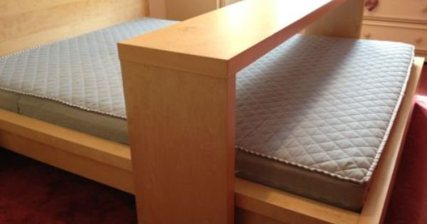 Ikea Malm Kingsize Bed With Mattress, Overbed Table Queen Bed