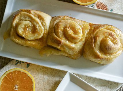 Mmmh Orange rolls every Christmas morning!!