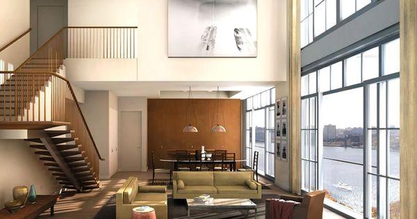 Modern Living Room Interior Design Of 200 Eleventh Avenue
