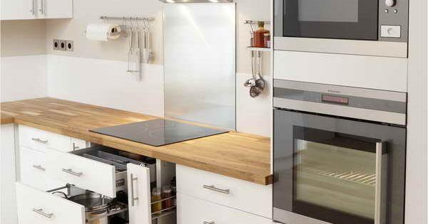 Meuble Cuisine Blanc Laqu Ikea Home Cuisine Dining