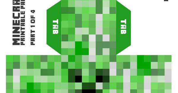 minecraft creeper skin template the image kid has it. Black Bedroom Furniture Sets. Home Design Ideas