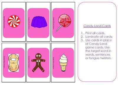 Candyland Articulation Candyland Games Candyland Candyland Board Game