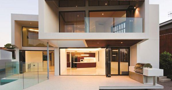 BVN Architecture have designed the Elysium 154 House in Noosa, Queensland, Australia.