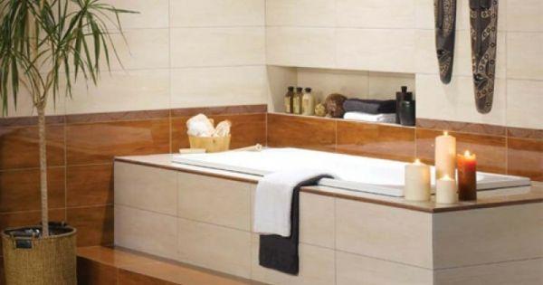 Badewanne Einfliesen Einbauwanne Moderne Badezimmer Zen Atmophare Eingebaute Badewanne Badewanne Badewanne Verkleiden