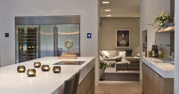 Van boven op maat gemaakte luxe keuken kitchens pinterest k k house och deco - Onderwerp deco design keuken ...
