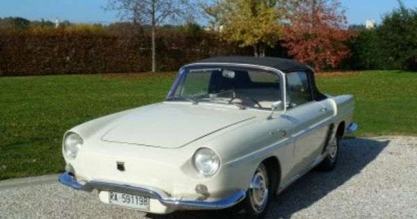 1961 renault floride r 1092 for sale classic cars for sale pinterest for sale. Black Bedroom Furniture Sets. Home Design Ideas