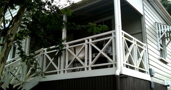 Deck Balustrade Perhaps On Top Of Our Conservatory For A
