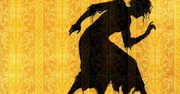 Yellow + Silhouette of woman dancing + creeping | Yellow ...