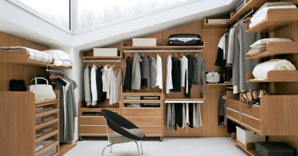 ... combles/un-dressing-sous-les-combles-2675_A  Dream place  Pinterest