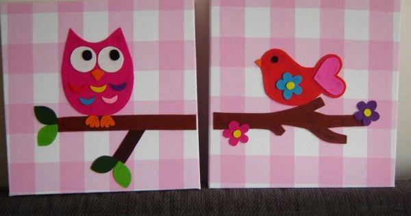Ideeen Om Kinderkamer In Te Richten : Schilderij; achtergrond stof met ...