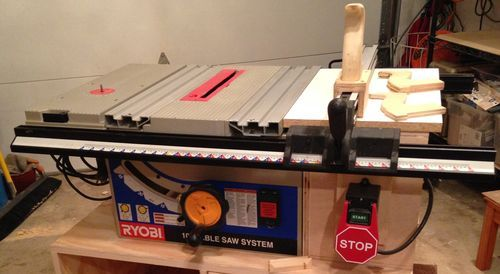 My Bt3100 Table Saw Upgrades Cheap Table Saw Woodworking Table Saw Ryobi Table Saw