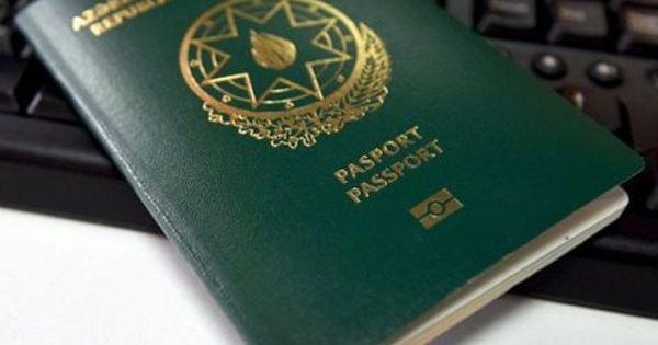 Azərbaycan Pasportu 199 Pasport Arasinda 133 Cudur Passport Personalized Items