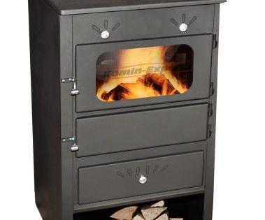Piec Kominek Z Plaszczem Wodnym I Szamotem 12kw Home Appliances Wood Stove Wood