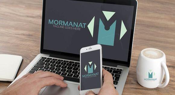 M Letter Logo – business logo