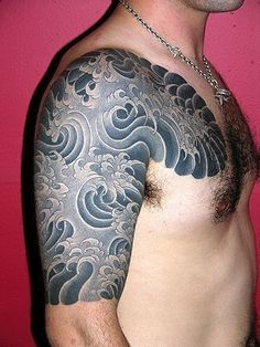 Japanese Wind Bars And Clouds Google Search Water Tattoo Waves Tattoo Japanese Water Tattoo