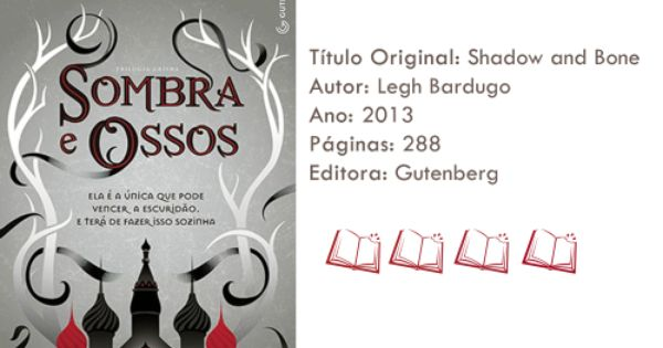 Livro Sombra E Ossos Sombra E Ossos Livros